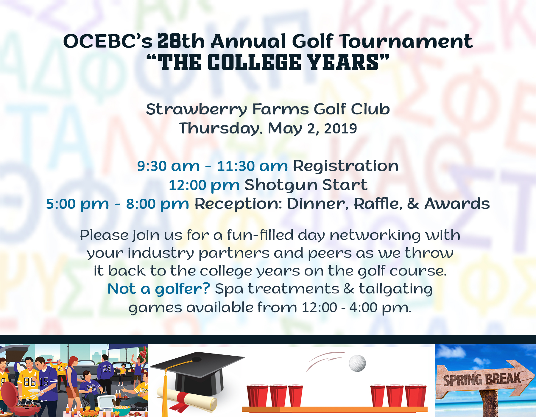 OCEBC 28th Annual Golf Tournament @ Strawberry Farms Golf Club