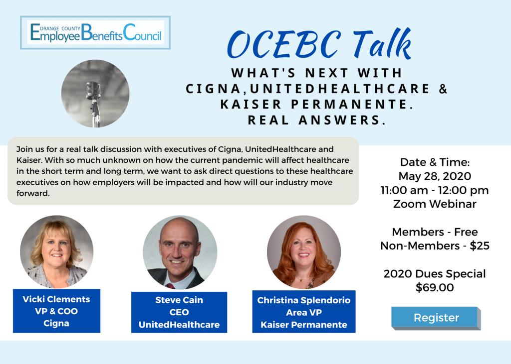 OCEBC Talk with Top Healthcare Executives